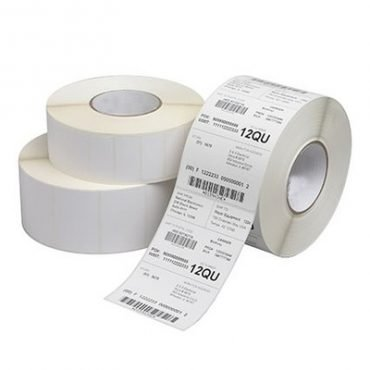 Thermal Red Labels 63.5x101.5mm 2.5x4 Roll ZA2.5x4-500-RED 500 Labels | Save money on labels for your Zebra Label Printer! | Fusion Office