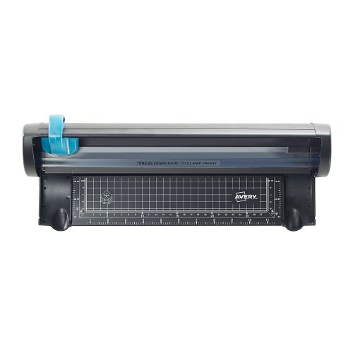 Avery A3 Compact Trimmer A3CT   12 Sheet Capacity   Self-sharpening blade   Compact Design   Ideal for Craft & Photos   Fusion Office UK
