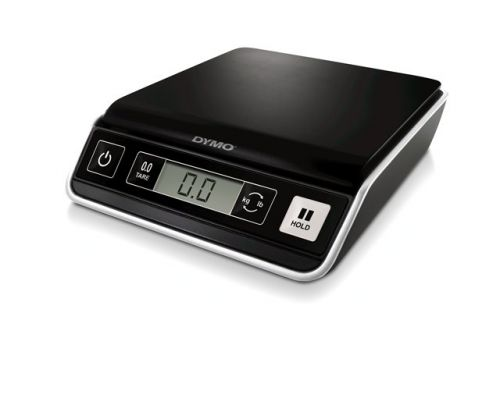Dymo M2 Mailing Scales 2kg S0928990 | Up to 2 kg capacity | 1 g increments | Powered by batteries (not included) | Fusion Office