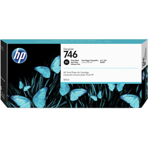HP 746 Photo Black Ink Cartridge P2V82A   Original Authentic HP - Hewlett Packard   Great Everyday Pricing   Fusion Office