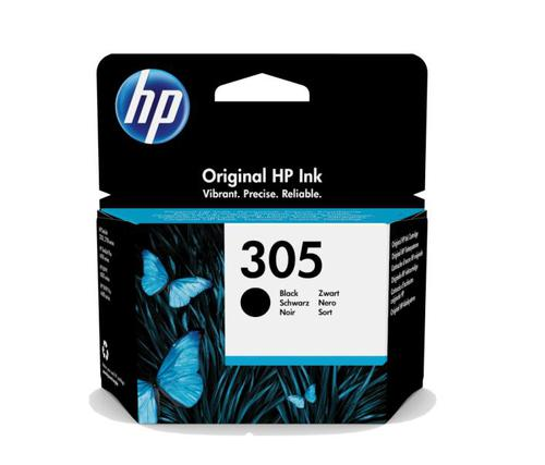 HP 305 Black Ink Cartridge 3YM61AE   Original Authentic HP - Hewlett Packard   Great Everyday Pricing   Fusion Office