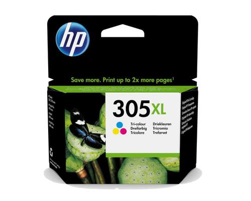 HP 305XL Tri-Colour Ink Cartridge 3YM63AE   Original Authentic HP - Hewlett Packard   Great Everyday Pricing   Fusion Office
