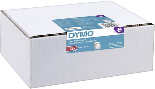 Dymo LW LabelWriter Large Address Labels 36x89mm White Ref 2093093 [12 x 260 Labels] Multipack   Authentic DYMO   Fusion Office