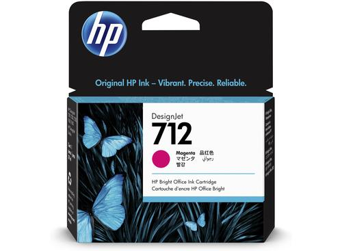 HP 712 Magenta Ink Cartridge 3ED68A | Original Authentic HP - Hewlett Packard | Great Everyday Pricing | Fusion Office