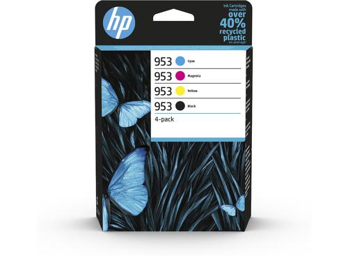 HP 953 Black Cyan Magenta Yellow 6ZC69AE [Pack 4] | Original Authentic HP - Hewlett Packard | Great Everyday Pricing | Fusion Office