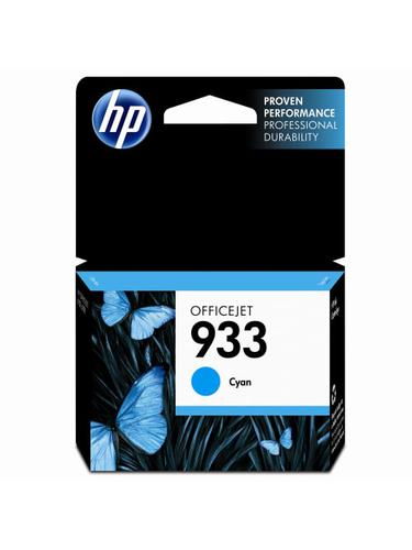 HP 933 Cyan Ink Cartridge CN058AE | Original Authentic HP - Hewlett Packard | Great Everyday Pricing | Fusion Office
