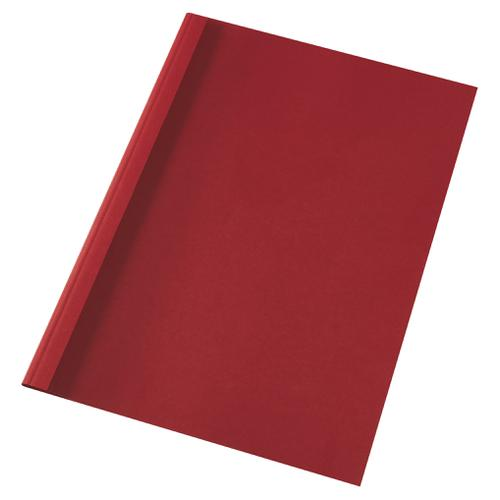 GBC ThermaBind Covers 1.5mm Red A4 IB451201 [Pack 100] | These Thermal Binding covers give a 'perfect bound' look | Fusion Office UK