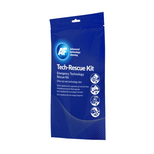 AF Tech Rescue Kit TRK000MIN | Emergency kit to rescue water damaged devices | Simple 3 step process | Fusion Office