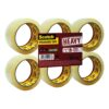 Scotch Clear Packaging Tapes Heavy 50mm x 66m [Pack 6]   Heavy duty   20 times stronger than acrylic tape   Fusion Office UK