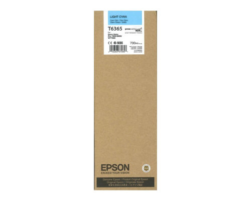 Epson T6365 Light Cyan Ink Cartridge C13T636500 | Great Everyday Pricing | Fast UK Delivery | Fusion Office UK