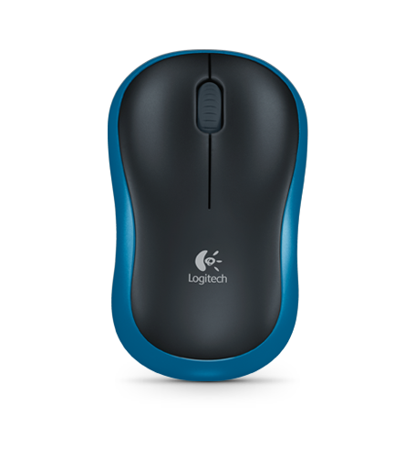 Logitech M185 Blue Wireless Mouse 910-002236 | Great Everyday Pricing | Fast UK Delivery | Fusion Office UK