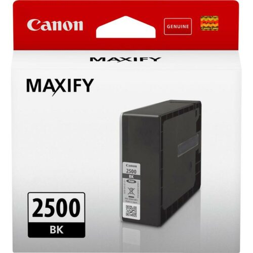 Canon PGI-2500BK Black Ink Cartridge 9290B001 | Great Everyday Pricing | Fast UK Delivery | Fusion Office UK