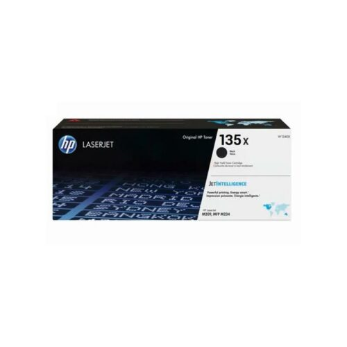 HP 135X Black Laser Toner Cartridge W1350X | Original Authentic HP - Hewlett Packard | Great Everyday Pricing | Fusion Office UK