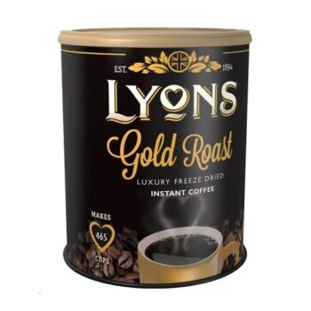 Lyons Gold Roast Instant Coffee 750g | A luxury office coffee! | Perfect for satisfying that anytime-of-day coffee craving | Fusion Office UK