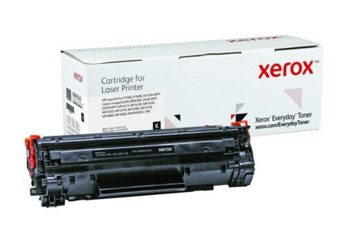 Xerox Toner For HP CE278A / CRG-126 / 128 Black XET 006R03630 | Lower cost per page than Original | Lifetime Warranty | Fusion Office UK