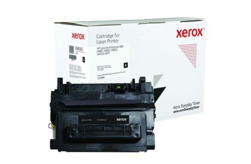 Xerox Toner For HP CE390A Black XET 006R03632 | Lower cost per page than Original | Lifetime Warranty | Fusion Office UK