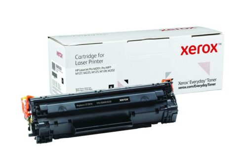 Xerox Toner For HP CF283A Black XET 006R03650 | Lower cost per page than Original | Lifetime Warranty | Fusion Office UK