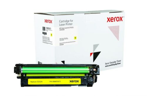 Xerox Toner For HP CE252A Yellow XET 006R03673   Lower cost per page than Original   Lifetime Warranty   Fusion Office UK
