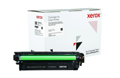 Xerox Toner For HP CE400X Black XET 006R03684 | Lower cost per page than Original | Lifetime Warranty | Fusion Office UK
