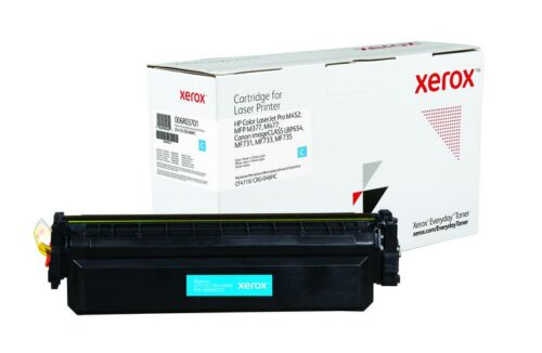 Xerox Toner For HP CF411X / CRG-046HC Cyan XET 006R03701 | Lower cost per page than Original | Lifetime Warranty | Fusion Office UK