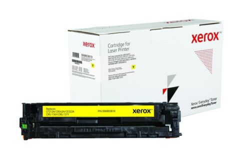 Xerox Toner For HP CF212A / CB542A / CE322A / CRG-116Y 006R03810   Lower cost per page than Original   Lifetime Warranty   Fusion Office UK