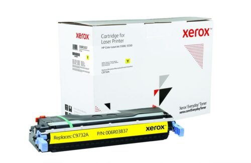 Xerox Toner For HP C9732A Yellow XET 006R03837 | Lower cost per page than Original | Lifetime Warranty | Fusion Office UK