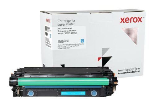 Xerox Toner For HP CE341A / CE271A / CE741A Cyan XET 006R04148 | Lower cost per page than Original | Lifetime Warranty | Fusion Office UK