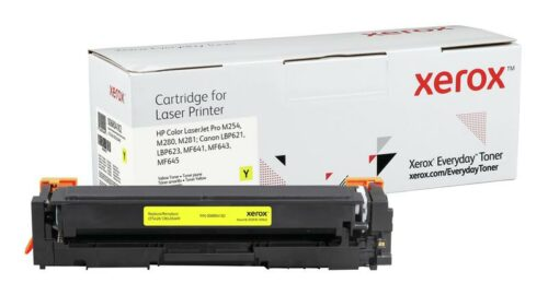 Xerox Toner For HP CF542X / CRG-054HY Yellow XET 006R04182   Lower cost per page than Original   Lifetime Warranty   Fusion Office UK