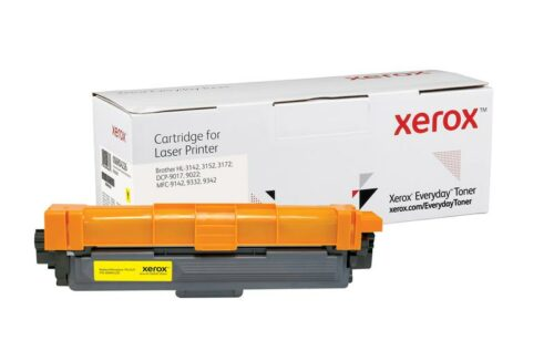 Xerox Toner For Brother TN242Y Yellow XET 006R04226 | Lower cost per page than Original | Lifetime Warranty | Fusion Office UK