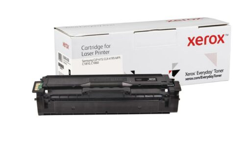 Xerox Toner For Samsung CLT-K504S Black XET 006R04308   Lower cost per page than Original   Lifetime Warranty   Fusion Office UK