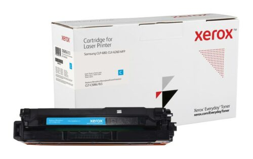 Xerox Toner For Samsung CLT-C506L Cyan XET 006R04313 | Lower cost per page than Original | Lifetime Warranty | Fusion Office UK