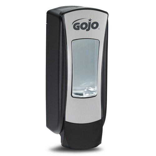 Gojo ADX Chrome Manual Dispenser 1250ml 8888-06   This high capacity 1200ml dispenser is ideal for high traffic areas   Fusion Office UK