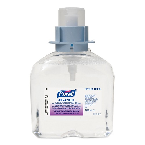 Gojo FMX Advanced Hygienic Hand Sanitising Foam 1200ml 5196-03 | Easy to manage allowing efficient coverage. | Fusion Office UK