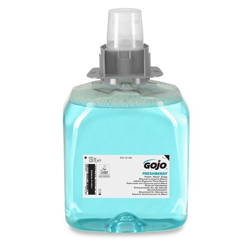 Gojo FMX Freshberry Foam Hand Soap 1250ml 5161-03   Enriched with moisturisers and skin conditioners   Fusion Office UK