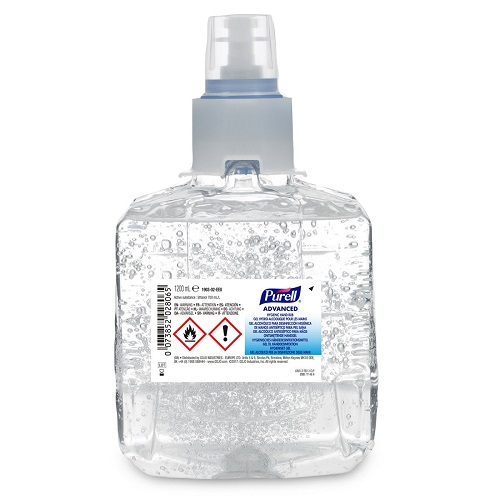 Gojo LTX Advanced Hygienic Hand Rub 1200ml 1903-02 [Pack 2] | 'Entire Hospital' formulation with antimicrobial efficacy | Fusion Office UK