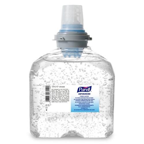 Gojo TFX Advanced Hygienic Hand Rub 1200ml 5476-02   'Entire Hospital' formulation with antimicrobial efficacy   Fusion Office UK