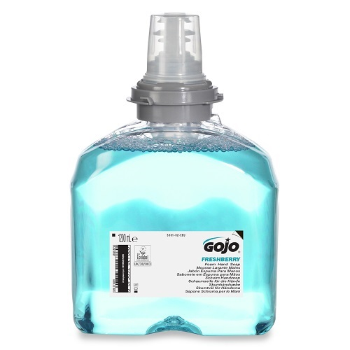 Gojo TFX Freshberry Foam Hand Soap 1200ml 5361-02 | Enriched with moisturisers and skin conditioners | Fusion Office UK