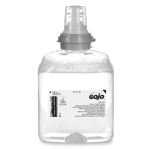 Gojo TFX Mild Foam Hand Soap 1200ml 5665-02   A foam hand wash that is extremely gentle to skin  Fusion Office UK