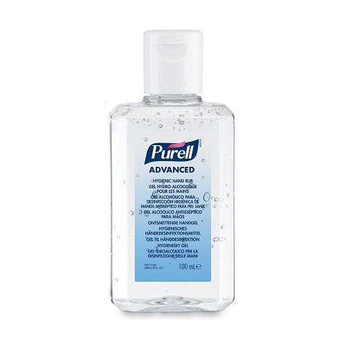 Purell 100ml Flip Cap Advanced Hygienic Hand Rub 9661-24   A hygienic hand rub that feels great & helps skin health   Fusion Office UK