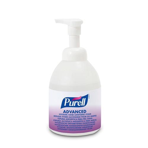 Purell Advanced Hygienic Hand Sanitising Foam 535ml 5796-04   A foam formulation, proven to help maintain skin health   Fusion Office UK