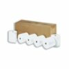 Thermal Credit Card Rolls 57mmx30mm 12mm Core [20]   High quality paper to ensure smooth running and trouble-free printing   Fusion Office UK